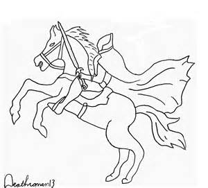 sleepy hollow headless horseman coloring pages coloring pages