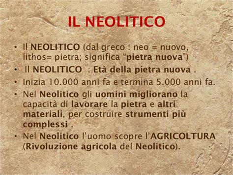 l alimentazione riassunto 9 il neolitico