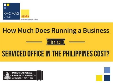 Mba Degree Requirements Philippines by How Much Does Running A Business In The Philippines Cost
