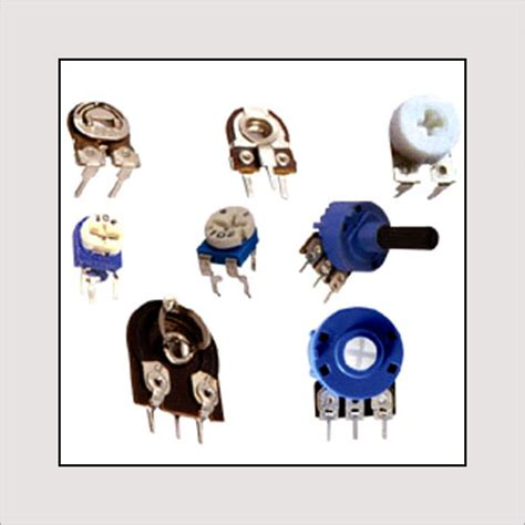 semi fixed variable resistor semi fixed variable resistor preset in lajpat market delhi delhi india sales india