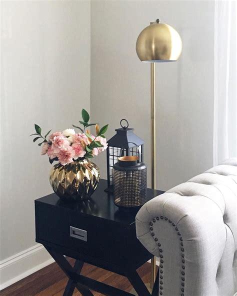 pendant floor l antique brown threshold modern globe floor l brassy gold threshold target