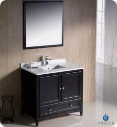 36 quot fresca oxford fvn2036es traditional bathroom vanity