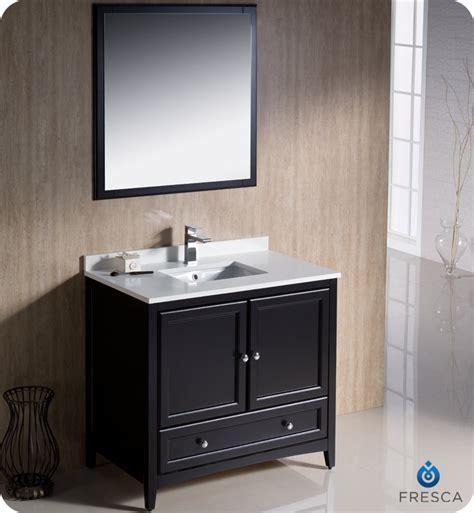 """36"""" Fresca Oxford (FVN2036ES) Traditional Bathroom Vanity"""