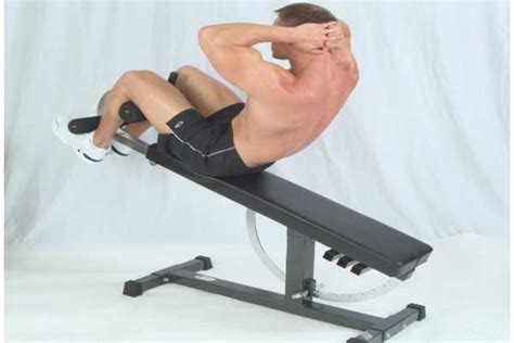 bench crunch crunches on bench 28 images crunches with legs on a bench exercise database jefit