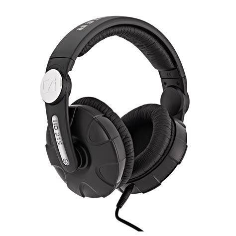 Headset Sennheiser Hd 215 sennheiser hd 215 ii closed dj headphones at gear4music