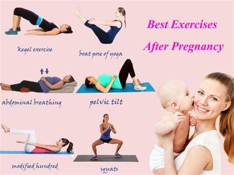 postnatal exercises tummy flatenning exercises