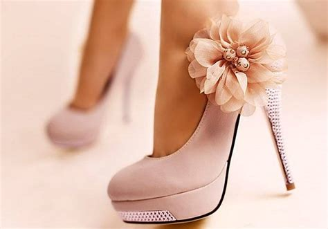 pretty pink high heels high heels shoes picture