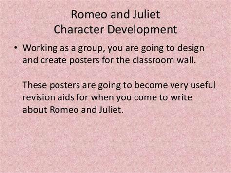 romeo and juliet theme development powerpoint of activities