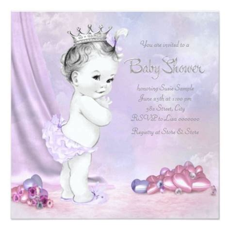 Pink And Purple Baby Shower Invitations by 1000 Images About Purple Pink Baby Shower Invitations On