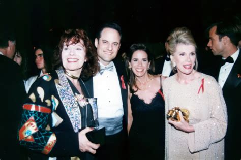Joan Rivers Mourns The Passing Of by Aids Healthcare Foundation Mourns Joan Rivers