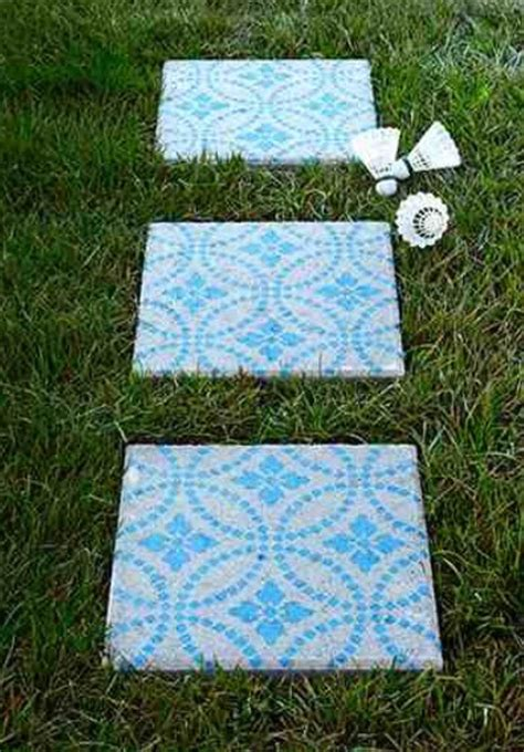 Painting Patio Pavers Diy Patio Pavers Perfect For Spring Trusper