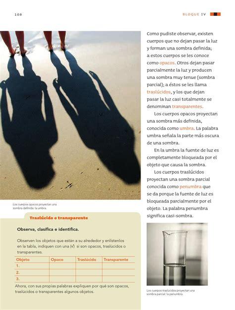 libro como la sombra que ciencias naturales 3er grado by rar 225 muri issuu