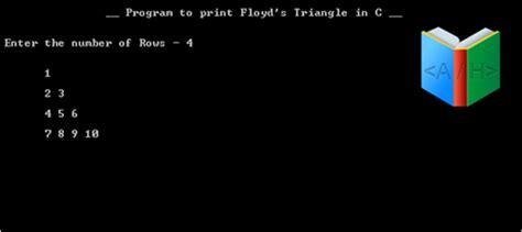 floyd pattern in c c program print triangle numbers onthewebthepiratebay