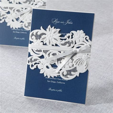 B Wedding Invitations