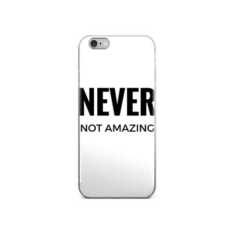 03mm Ultra Thin Matte Transparent Back Cover Iphone 4 4s never not amazing iphone go for dope