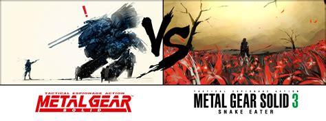 16 Metal Gear 3 16 Metal Gear Solid Vs Metal Gear Solid 3 Snake