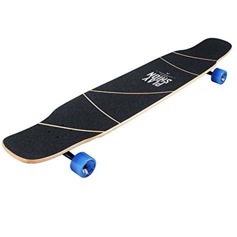 playshion dancing longboard skateboard complete