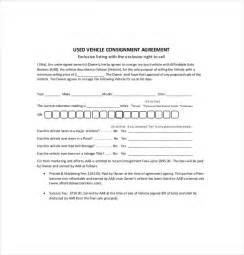 consignment agreement template free 9 consignment agreement templates free sle exle