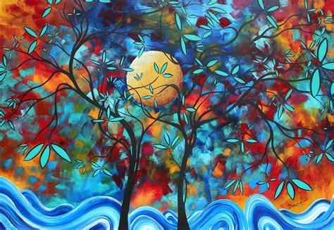 Lukisan Digital Abstrak 6 m ruh kata konsep realitas