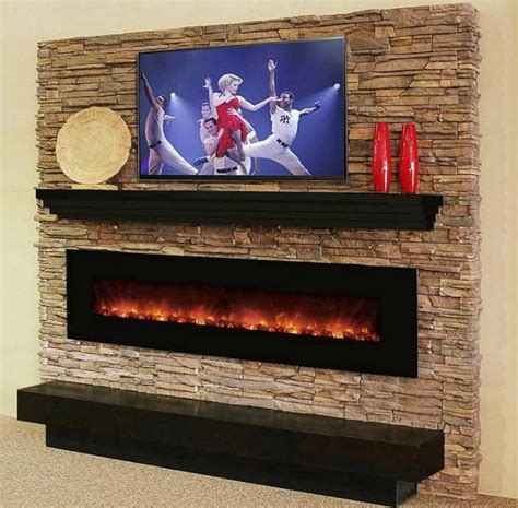 contemporary fireplace mantel shelves ideas