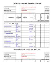 Software Test Plan Template by Test Plan Template 11 Free Word Pdf Documents