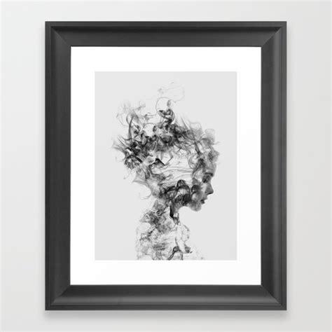 in framed artwork dissolve me framed print by daniel society6