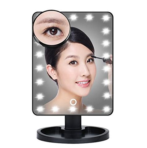 Led Popular Convenient Touch Table L Aa Sj001 beautify large trifold lighted makeup dressing table vanity mirror with 22 led lights