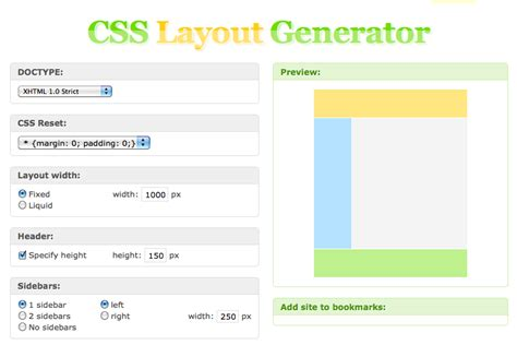 layout of css file great resources for help with css css menumaker