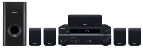htp 2900 home theater package with a v receiver and 5 1