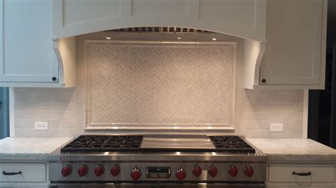 glass subway tile backsplash with glass mosaic inlay yelp handmade ceramic tile herringbone mosaic inlay with