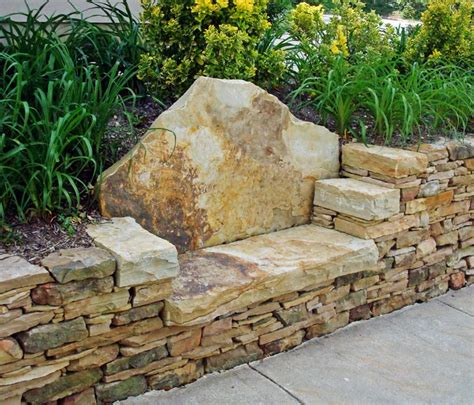 flagstone bench i like the quot dentist chair quot seat and the chatty details about stone bench installation