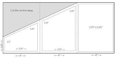 Zig Zag Card Template by 17 Best Images About Measurements On One Sheet