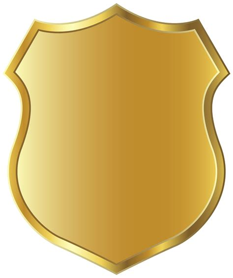 Golden Badge Template Clipart Png Picture Borders Frames Goldy Pinterest Picture Badge Template