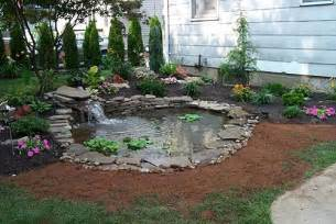 Building A Small Backyard Pond Genesis Landscaping Pond Building In Hempstead In New