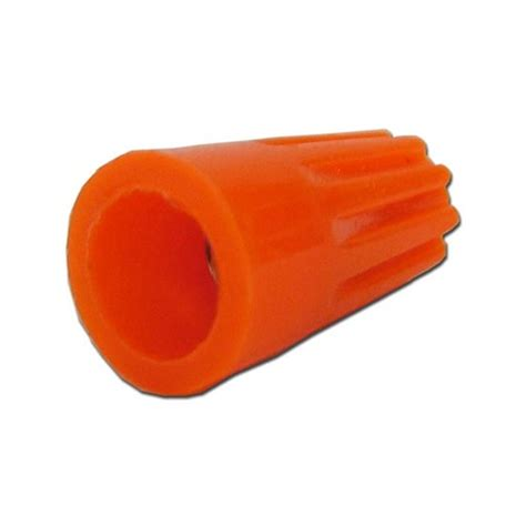 types of wire nuts orange wire nut max 16x3 18 100pk