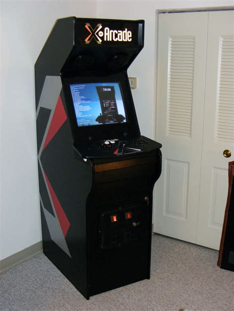 arcade cabinet plans tankstick making an old casine cab into a mame machine now with