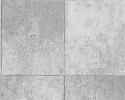 steinzeugfliesen grau tapete beton betonplatte grau as creation 30179 1