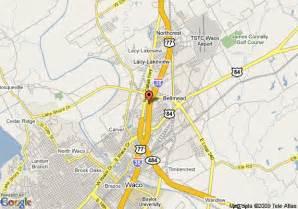map of waco map of days inn waco waco