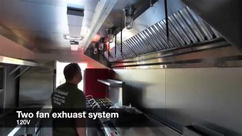 Food Truck Concession Trailer Grease Hood Review   YouTube