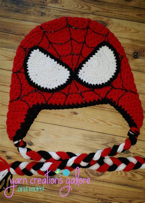 spiderman pattern crochet crochet spiderman hat