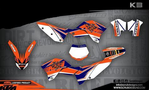 Aufkleber Ktm Sx 65 by Ktm Dekor Sx 65 20019 2008 K3 White Mx Kingz Motocross Shop