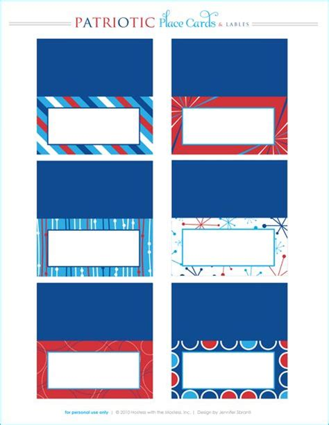 Cards Template Patriotic by Free Printables Patriotic Printables Printable