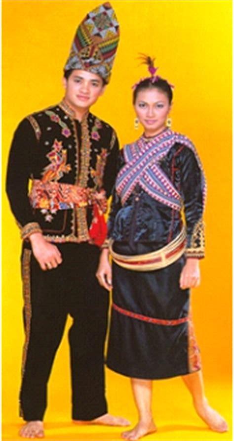 Baju Etnik Bajau pakaian tradisional malaysia pakaian tradisi kaum kadazan
