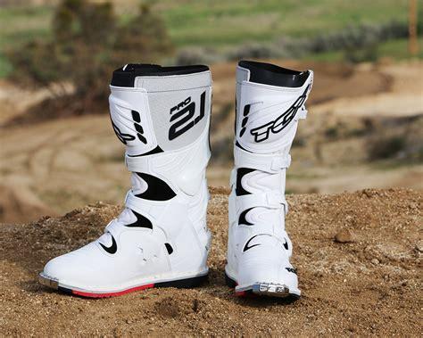tcx pro  boots dirt bike test