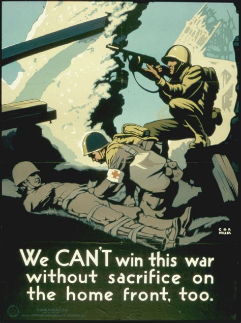 file quot you can t win this war without sacrifice on the home