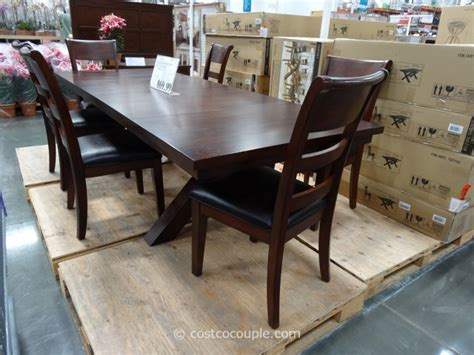Costco Dining Table Transitional Elegant Style Dining Costco Dining Table
