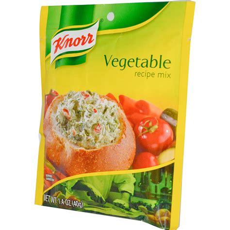 Vegetable L by Knorr Vegetable Recipe Mix 1 4 Oz 40 G Iherb