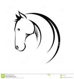 horse symbol royalty free stock photography image 27787507