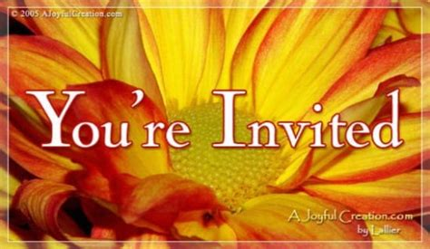 You Re Invited Church Cards
