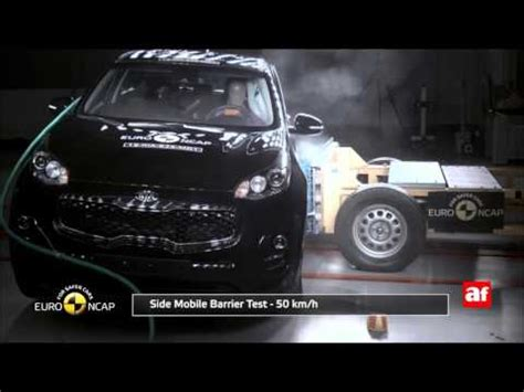 Kia Sportage Crash Test Kia Sportage 2016 Crash Test Ncap